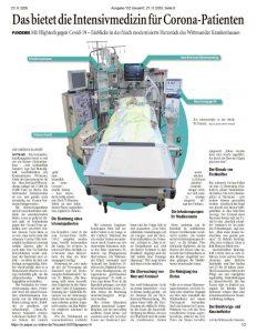 Intensivstation Krankenhaus Wittmund